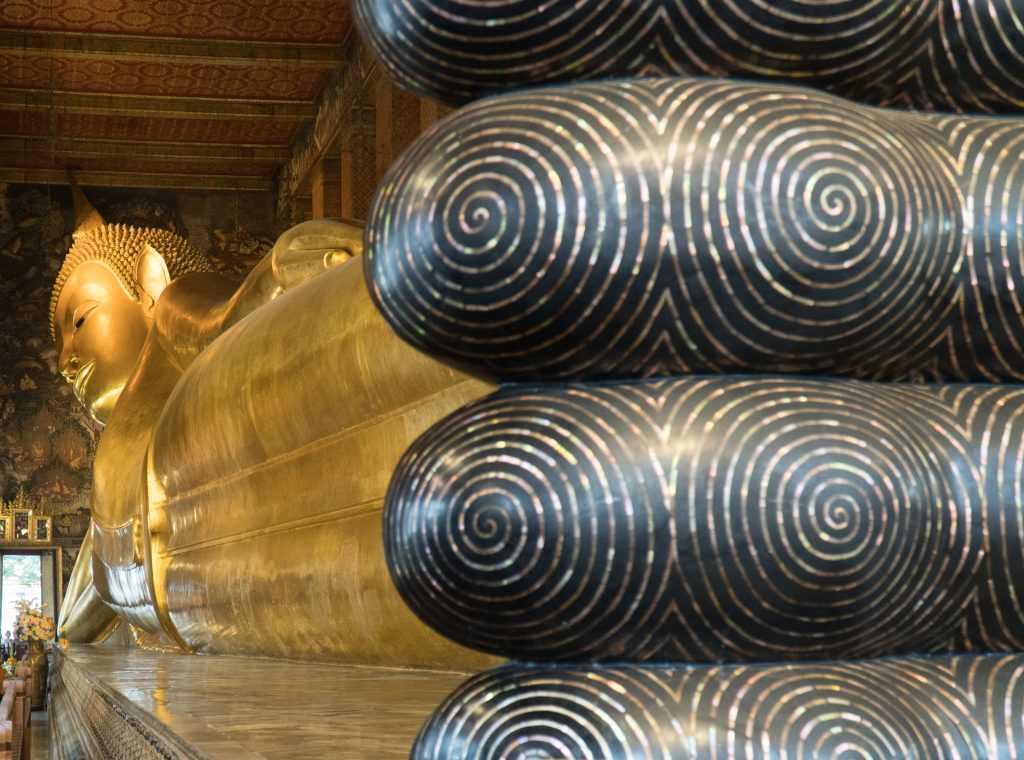 Le buddha couché du Wat Pho