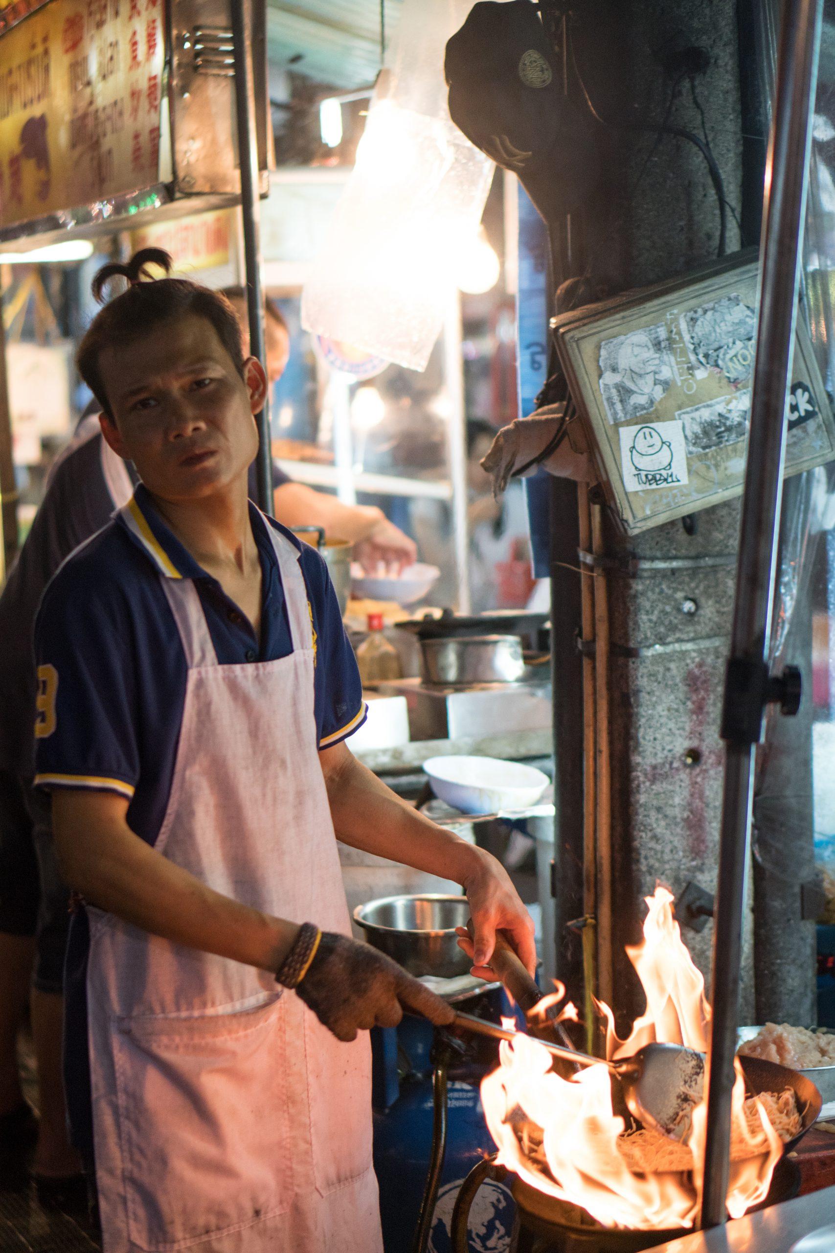Marché de nuit à China Town