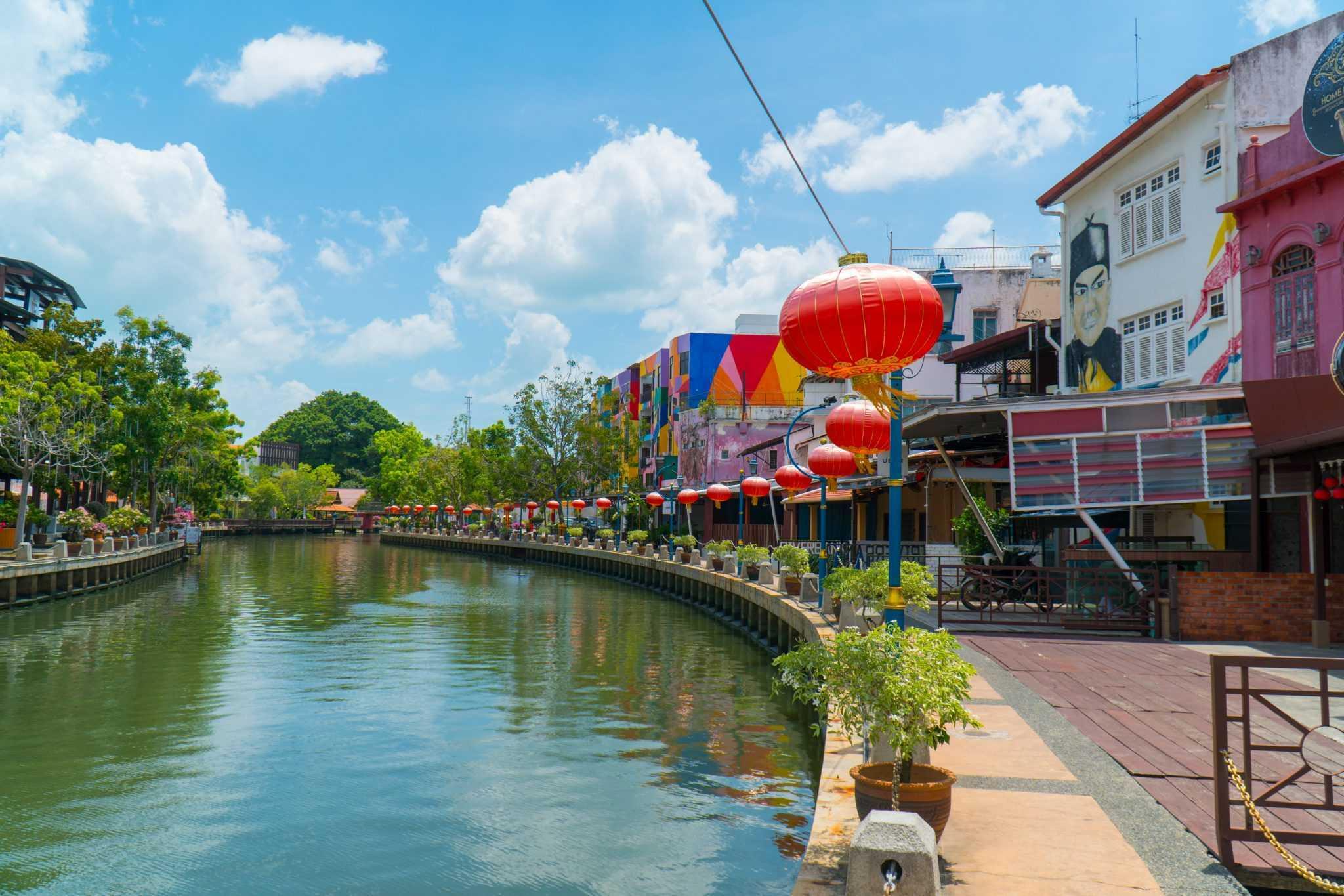 Les quais de Malacca