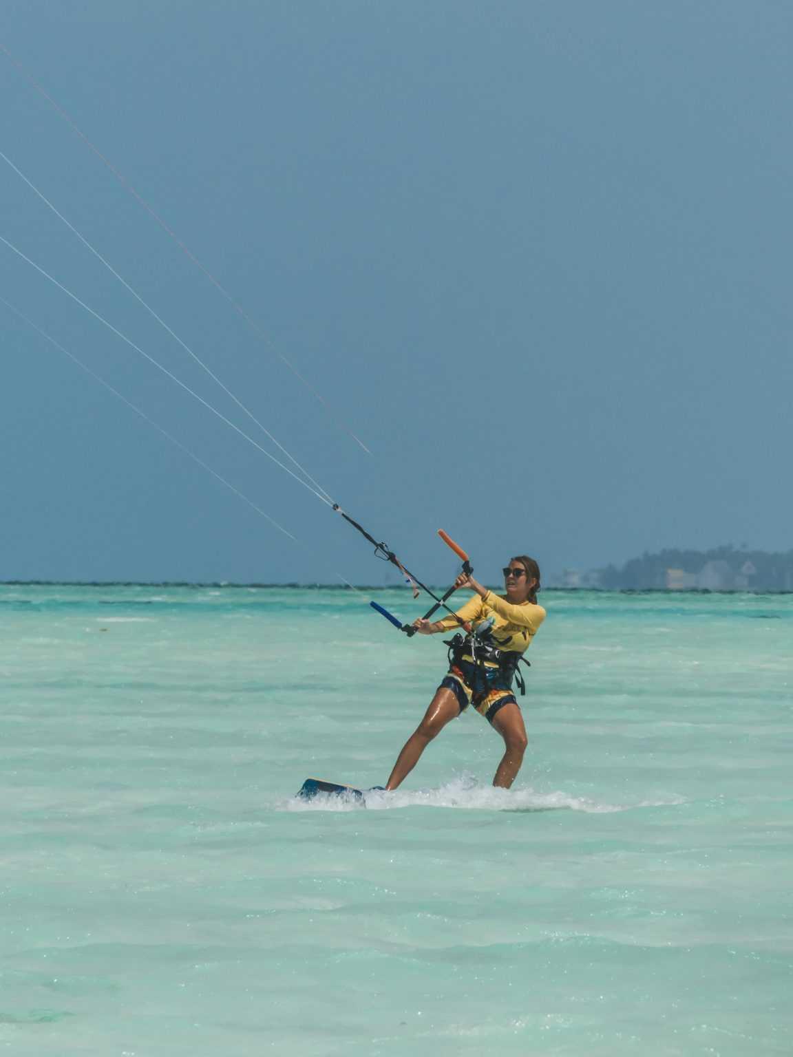 Manon déjà vice-championne de KiteSurf