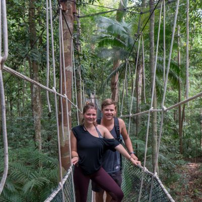 La canopy walk